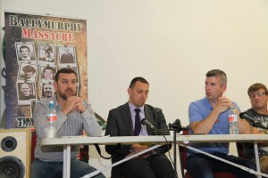 Screening of 'Ballymurphy' at the Conway Mill 8th of August 2014.
